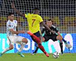 組圖:世界盃預賽 哥倫比亞2:2平阿根廷