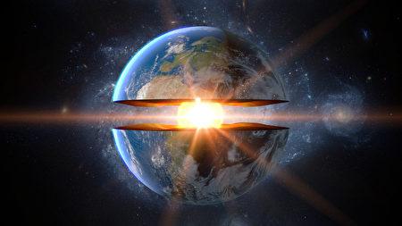 科学家发现地核一侧长势较快