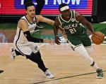 NBA哈勒戴致勝上籃 雄鹿破籃網奪首勝