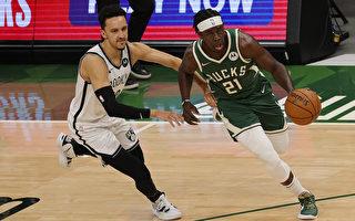 NBA哈勒戴致胜上篮 雄鹿破篮网夺首胜