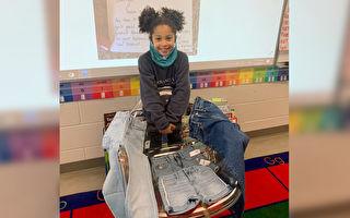 建議廠商製「真口袋」牛仔褲  7歲童獲驚喜