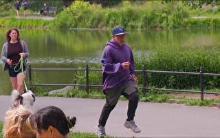 纽约中央公园小偷抢手机  法轮功新学员见义勇为夺回