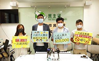 香港八成受访者促消费券增至一万元