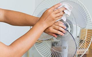 最容易积灰尘的电扇、纱窗如何清洁?(Shutterstock)