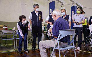 中市111处疫苗注射站开打 首日秩序良好