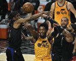 NBA里納德、喬治、摩里斯貢獻86分 快船追平爵士