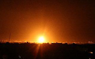 以色列空袭加沙 反击哈马斯燃烧气球袭击