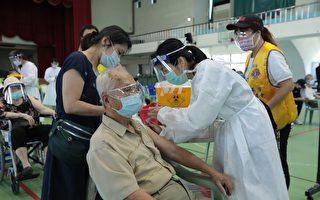 基隆高龄施打疫苗 周六日80岁以上施打