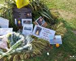 居英港人悼念「反送中」首位犧牲者梁凌杰