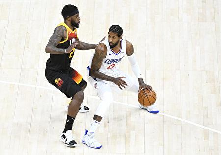 NBA喬治率2將合攻84分 快船退爵士聽牌