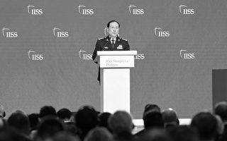 當中共防長的面 美防長直言北京在南海違法