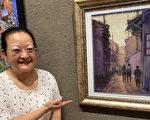 黃金華粉彩畫入圍沙瑪冠帝美術公開賽