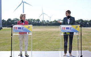 組圖:歐盟委員會主席訪丹麥 視察能源產業