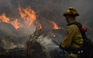 大苏尔地区大火延烧750英亩 当局发强制撤离令