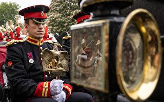 組圖:英國將滑鐵盧鷹等文物移至新館展出