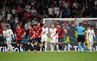 组图:欧洲杯足球D组 捷克0:1不敌英格兰