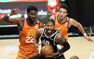 NBA乔治、杰克森合攻50分 快船遮日扳回一城