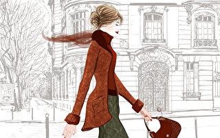 巴黎女人不會全身名牌打扮 混搭更有魅力