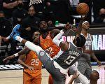 """NBA西部决赛:太阳险胜快船拿到""""赛点"""""""