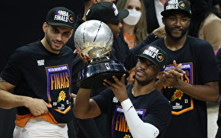 NBA保罗41分全场最高 太阳晋总冠军赛
