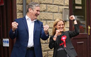 補選保住席位 英國工黨領袖鬆口氣