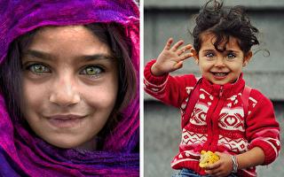 组图:宝石般美丽 穷孩子的双眸仍透着纯真
