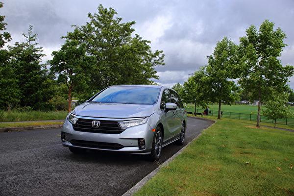 車評:連續多年北美Minivan銷量第一 2021 Honda Odyssey Elite