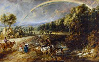 法兰德斯画家鲁本斯笔下的田园景致