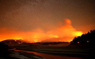 加州野火创新纪录 官员:遇最严峻时刻