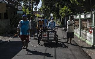 组图:印尼疫情严峻 单日新增逾四万例