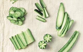 抗暑祛热 小黄瓜不同切法做出不一样料理