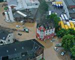 组图:德国西部遭重大洪灾 逾80死1300失踪
