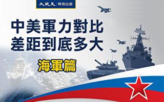 【图解】中美军力对比 差距多大(海军篇)