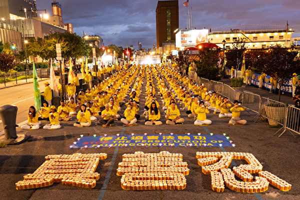 纽约720夜悼被迫害致死的法轮功学员