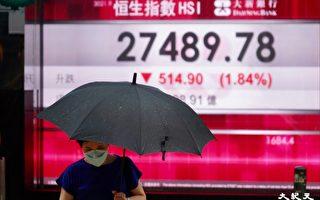 香港恒指挫514點 美團插逾5% 成份股中最差