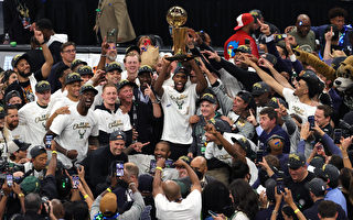 NBA字母哥50分助威 雄鹿暌违50年夺冠