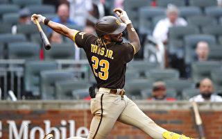 MLB 小塔提斯開轟 終結全壘打荒