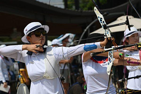 东奥7·23:韩女子射箭夺前三 20岁安山破奥纪录
