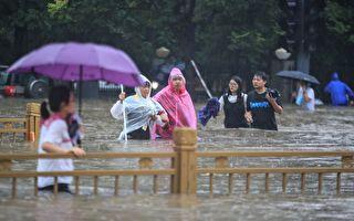 """台风""""烟花""""逼近上海 中国更多省面临强降雨"""