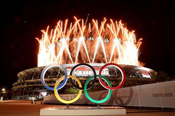組圖:延遲一年 東京奧運隆重開幕