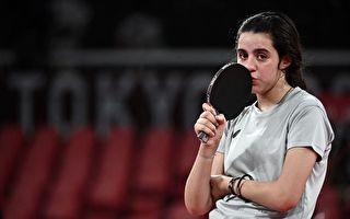 东奥7.24|最年轻竞赛者上场乒乓球赛 她只有12岁