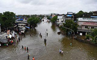 印度暴雨引發洪水和山體滑坡 至少125死