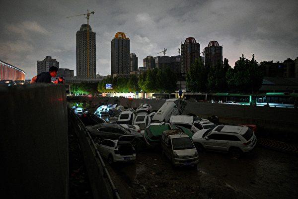 【一线采访】河南洪灾 寻亲人数远超伤亡数