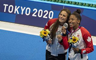 【东京奥运】女子双人三米跳板跳水 加拿大夺银