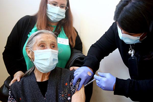 加州疫苗接種率高的縣 中共病毒傳播迅速