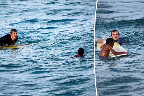11歲童被困激流險溺亡 幸遇衝浪者及時勇救