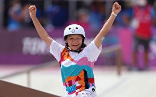 东奥7.26|女滑板街霸出炉 日孩金牌得主年龄仅13岁