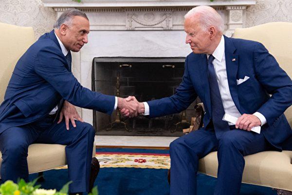 拜登:今年底结束美军在伊拉克作战任务