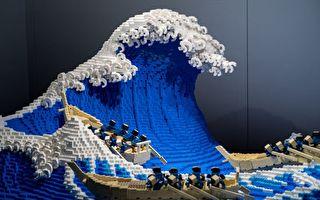 立体视觉 日本艺术家用五万块乐高还原名画