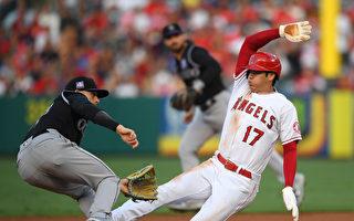 MLB大谷翔平迎第五勝 安打、盜壘、打點都進帳
